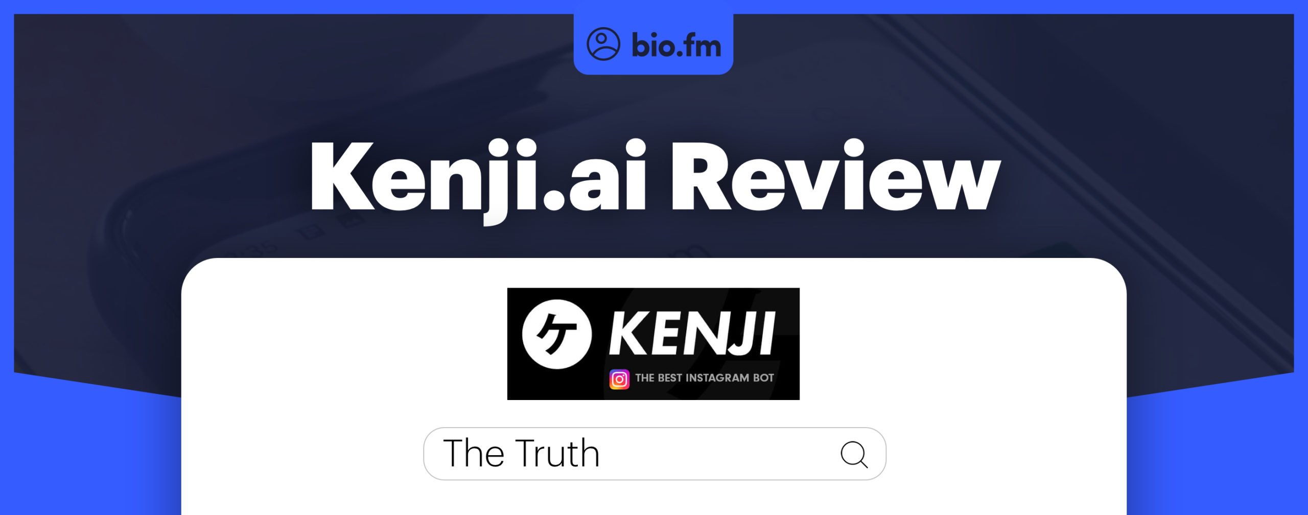 kenji review featured image