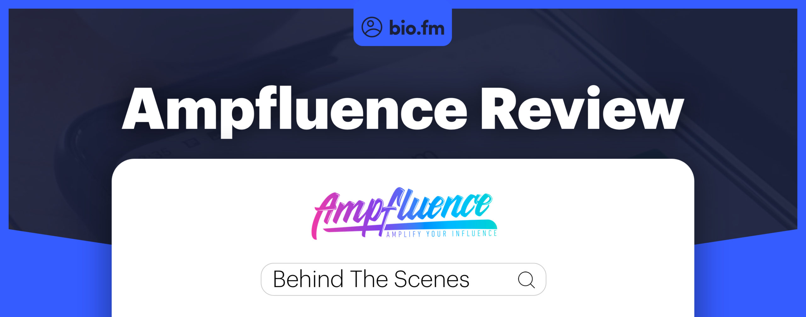 amfluence review featured image