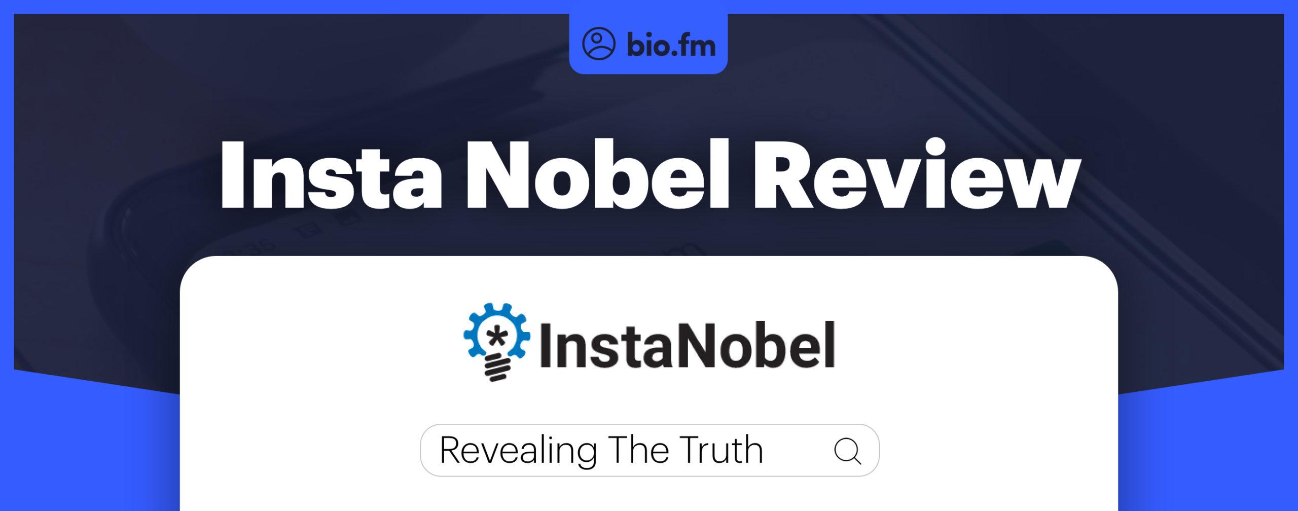instanobel review featured image